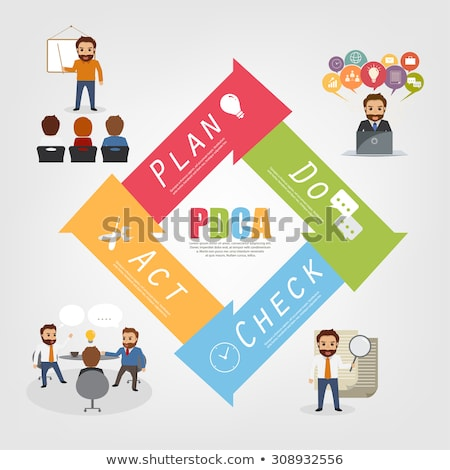 Think Plan Act Business Concept Stock photo © stevanovicigor