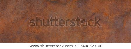 Boyalı paslı metal doku eski yeşil arka plan Stok fotoğraf © icefront