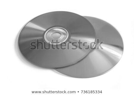 Cd disc on white background Stock photo © ozaiachin