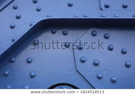Vasaló híd Krakkó Lengyelország víz város Stock fotó © 5xinc