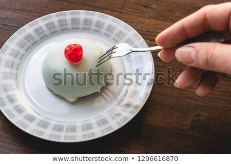 Typowy ciasto sycylia Włochy włoski ciasta Zdjęcia stock © Photooiasson