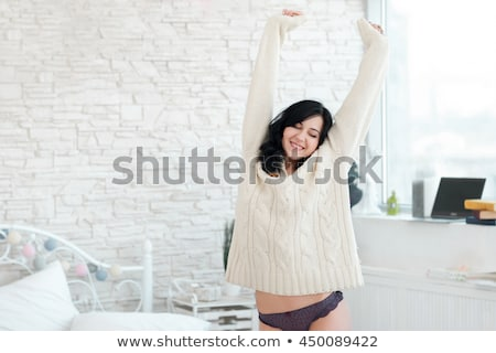 Woman pleasing herself Stock photo © Nobilior
