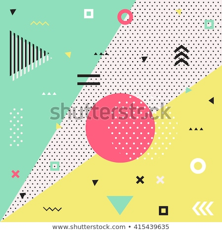 retro 80s summer pattern background stock photo © cienpies