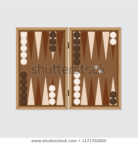 Backgammon table stock photo © fuzzbones0