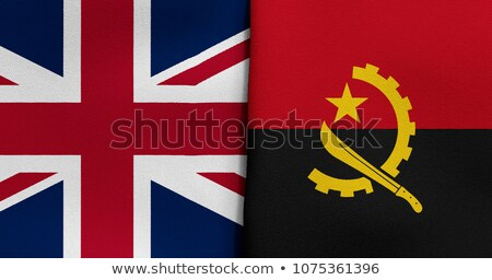 United Kingdom and Angola Flags  Stock photo © Istanbul2009