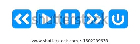 oynamak · ince · alüminyum · klavye · düğme - stok fotoğraf © fuzzbones0