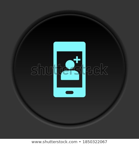 скорой Purple вектора икона кнопки интернет Сток-фото © rizwanali3d
