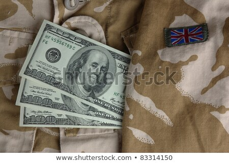 army uniform jacket with dollars stock photo © geniuskp