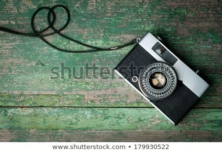 Idejétmúlt fotó kamera film technológia fém Stock fotó © Paha_L