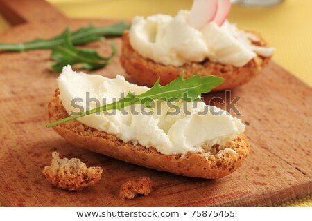 Crisp rolls with cheese spread Stock photo © Digifoodstock