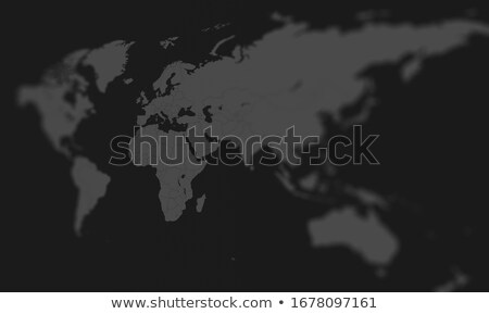 Stock photo: Europe and Africa in focus