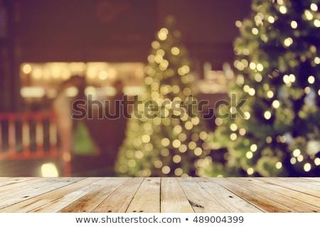 abstract · Blur · paars · christmas · lichten · partij - stockfoto © stoonn