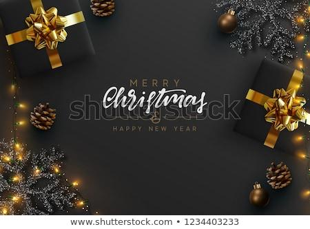 陽気な · クリスマス · 面白い · ツリー · 幸せ - ストックフォト © bluering