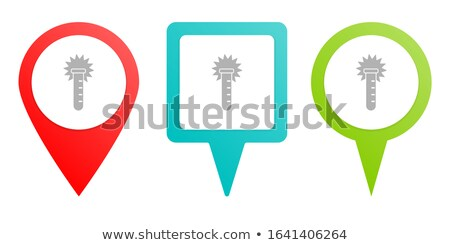 Rounded buttons with the different types of transportation Stock photo © bluering