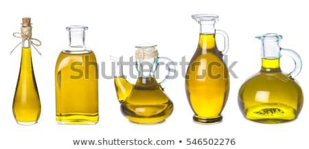 Extra de oliva óleos botellas aislado tres Foto stock © marimorena