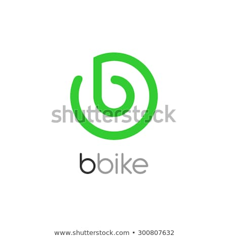 A letter B for bicycle Stock photo © bluering