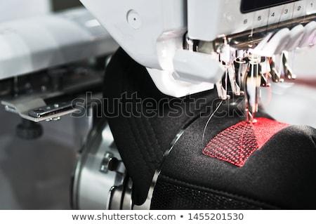 Textile embroidery machine stock photo © jordanrusev