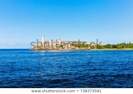 mar · La · Habana · Cuba · cielo · naturaleza · paisaje - foto stock © phbcz