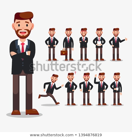 People doing different actions set Stock photo © bluering