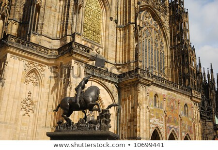 Details of St Vitus' s Cathedral. Prague, Czech Republic Stock photo © Kirill_M