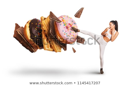 Eating Addiction Concept Stock photo © Lightsource