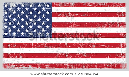 Grunge bandeira américa feliz fundo Foto stock © SArts