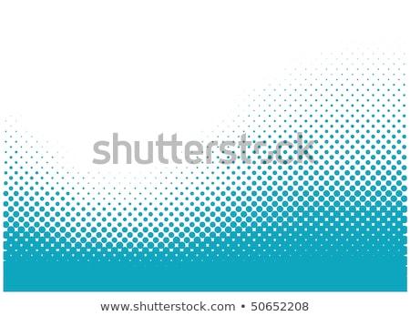 Verde meio-tom abstrato estilo fundo retro Foto stock © SArts