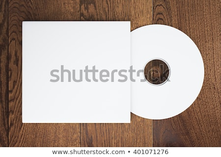 empty cd cover design mockup template Stock photo © SArts