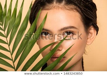 гламур без верха привлекательный брюнетка девушки Sexy Girl Сток-фото © fotoduki