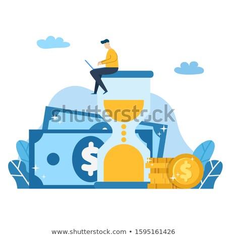 Mais dinheiro ícone negócio projeto Foto stock © WaD