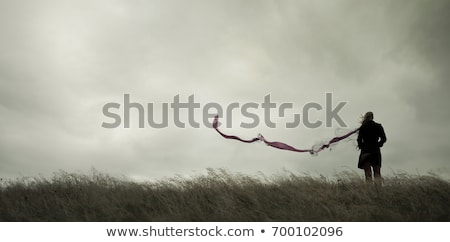 Standing alone. Stock photo © Fisher