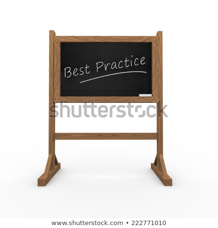 Good Idea - Text on Black Chalkboard. 3D Rendering. Stock photo © tashatuvango