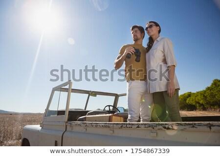 Para stałego drogowego pojazd Zdjęcia stock © wavebreak_media
