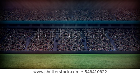 Digital image of crowded soccer stadium Stock photo © wavebreak_media