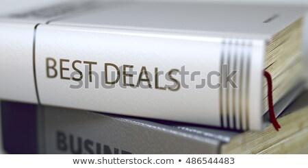 Mejor libro título 3D Foto stock © tashatuvango