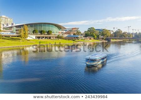 Río adelaide Australia ciudad verano Foto stock © dirkr
