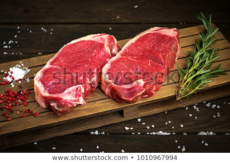 new york steak Stock photo © smitea