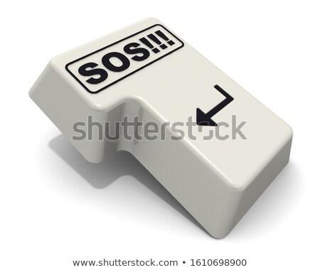 人 クリック キーボード ボタン 赤 ストックフォト © tashatuvango