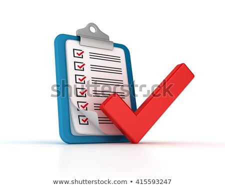 Clipboard with Compliance. 3D. Stock photo © tashatuvango