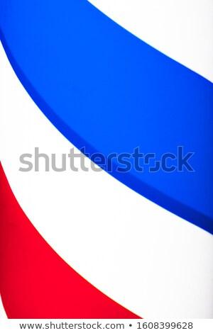 Czech patriota człowiek odizolowany biały komiks Zdjęcia stock © rogistok