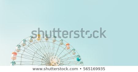 Ferris wheel and sky Stock photo © Givaga