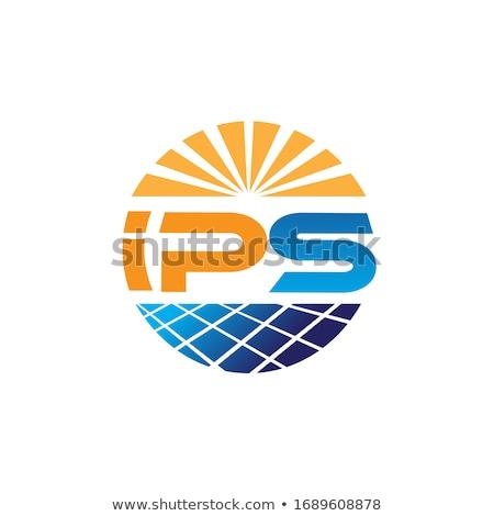soyut · güneş · enerji · logo · dizayn · vektör - stok fotoğraf © krustovin