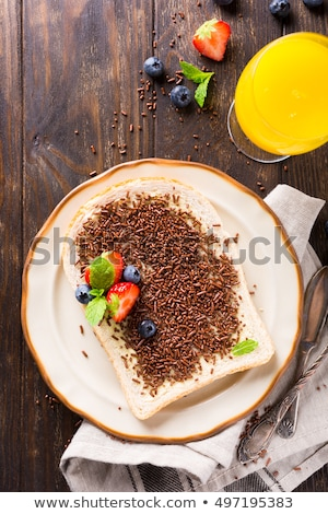 Assorted dutch hagelslag sprinkles. Stock photo © Melnyk
