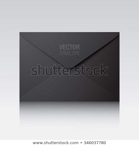 Office Papers Envelopes and Folders Isolated Icons Stock photo © robuart