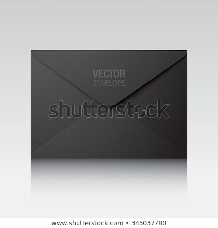Büro Papiere Ordner isoliert Symbole Vertrag Stock foto © robuart