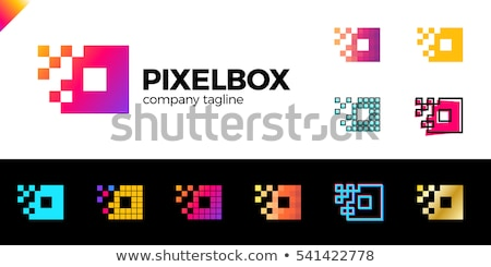 ビジネスロゴ 広場 アイコン カラフル ボックス シンボル ストックフォト © blaskorizov