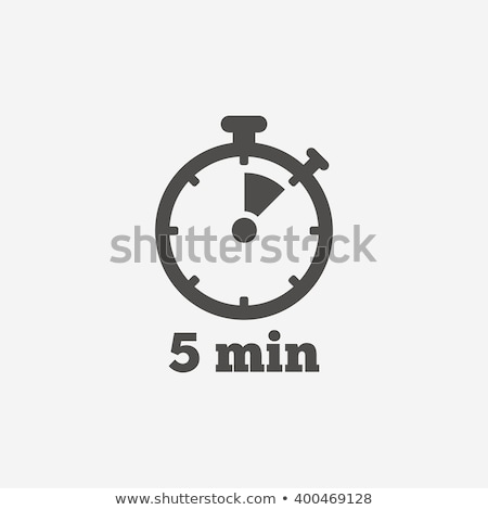 Timer icon vector logo symbool element Stockfoto © blaskorizov