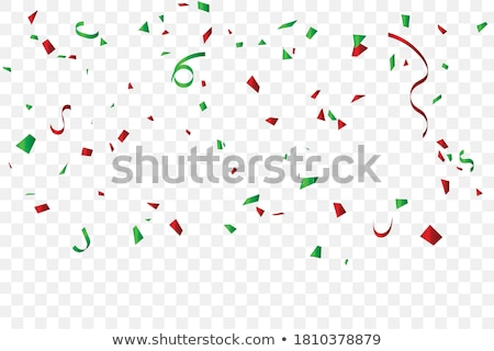 Festive Confetti background, vector illustration Stock photo © lemony