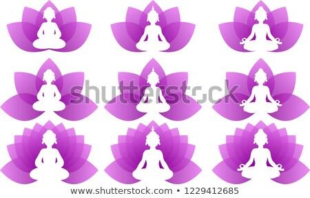 Buddha lotus leave set Stock photo © Blue_daemon