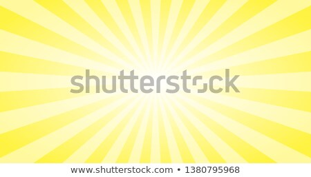 Stock photo: Abstract Yellow Sun rays vector background. Summer sunny 4K design.
